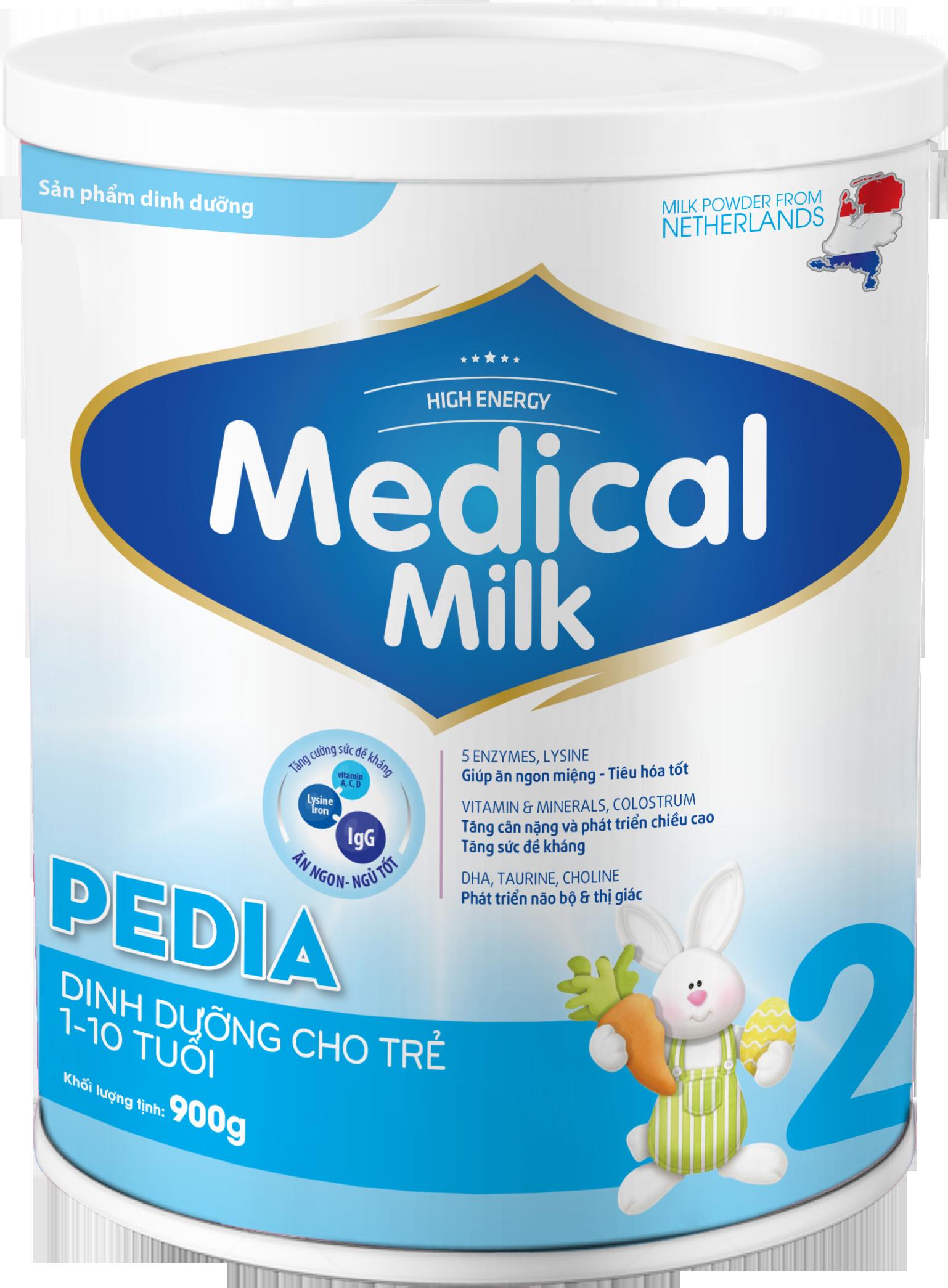 MEDICAL MILK PEDIA 900g