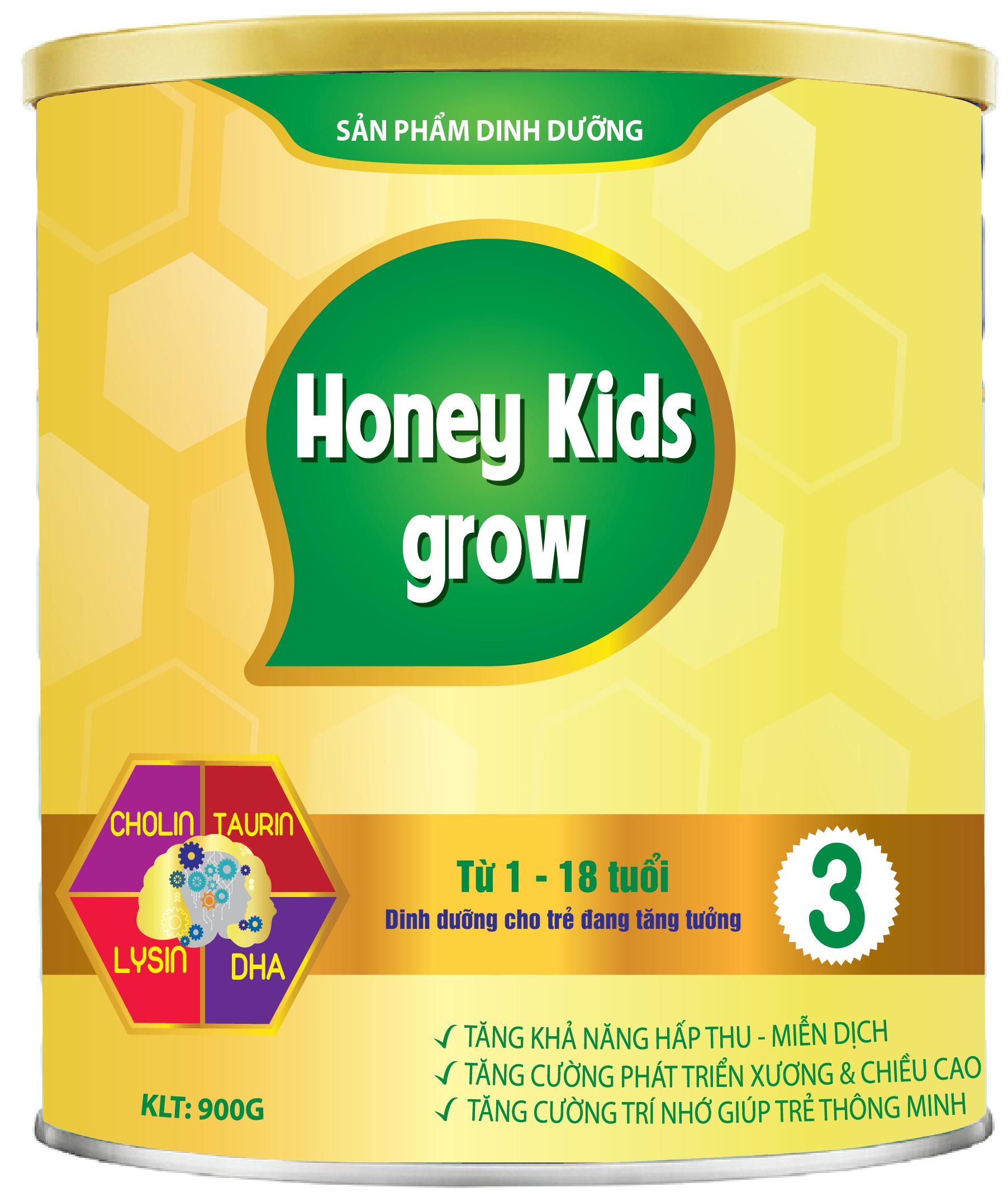 HONEY KIDS GROW PLUS 900gr