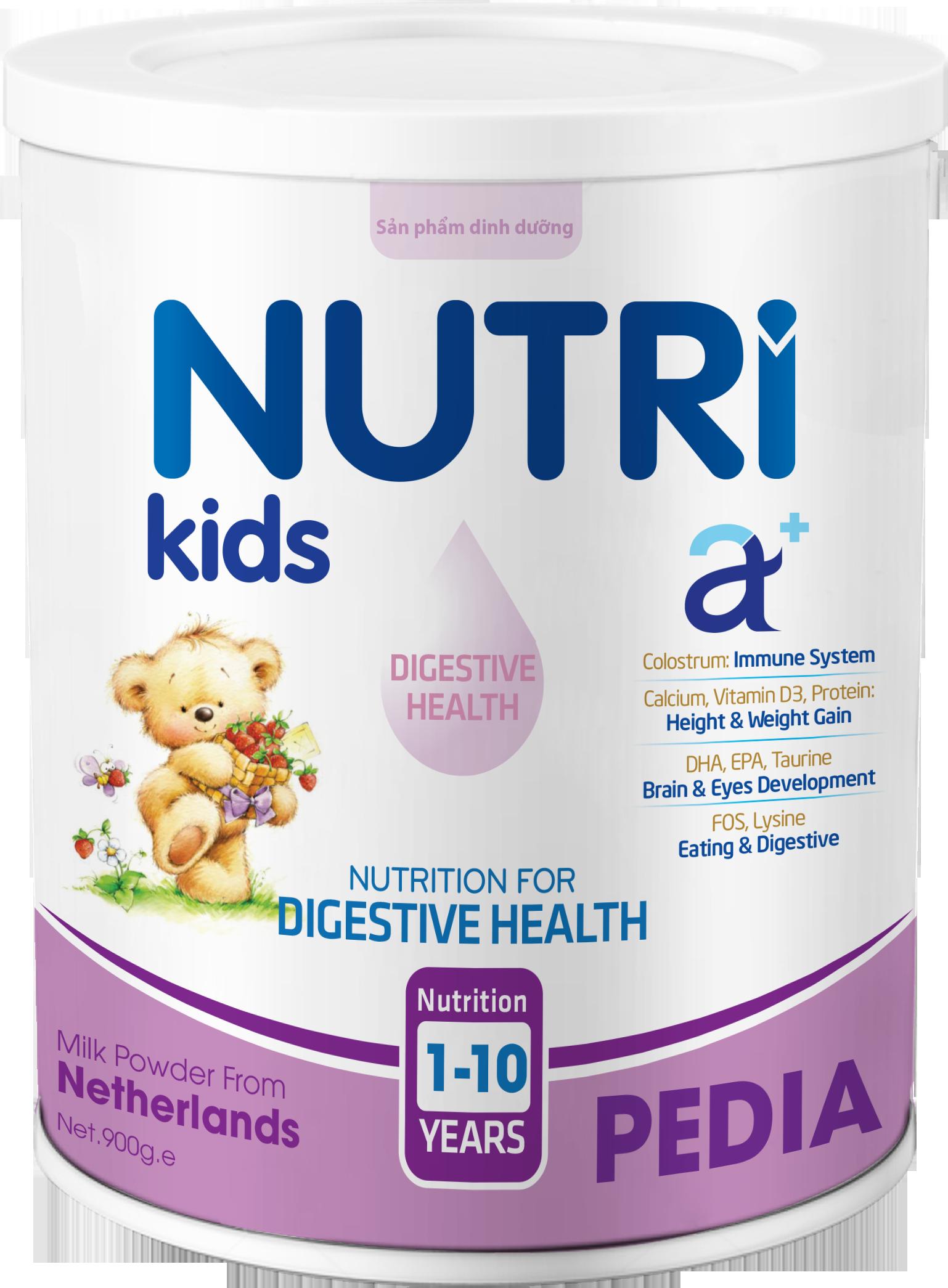 NUTRI KIDS A+ PEDIA 900g
