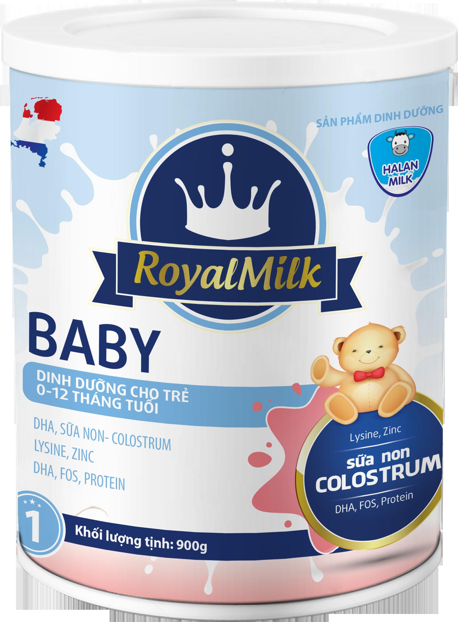 ROYAL MILK BABY 900g