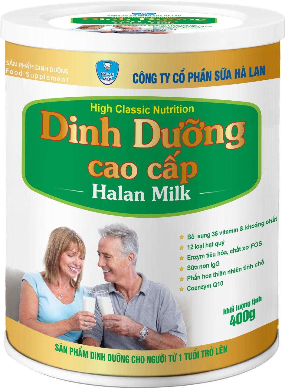 DINH DƯỠNG CAO CẤP HALAN MILK 400gr