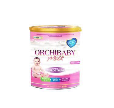 ORCHIBABY MILK 400gr