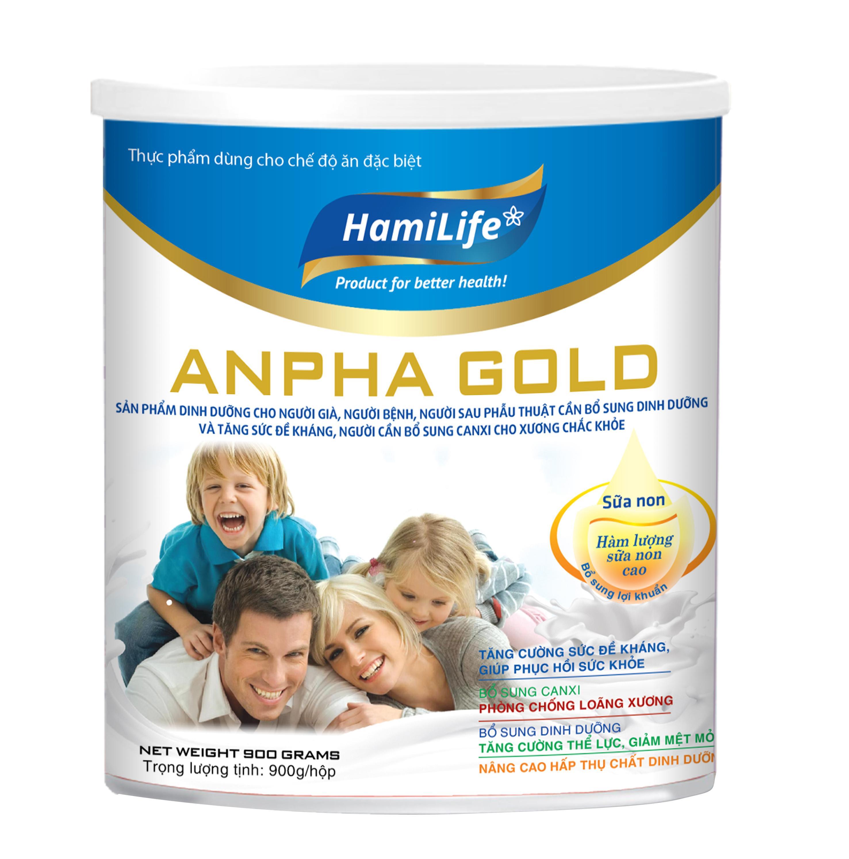 HAMILIFE ANPHA GOLD 900g