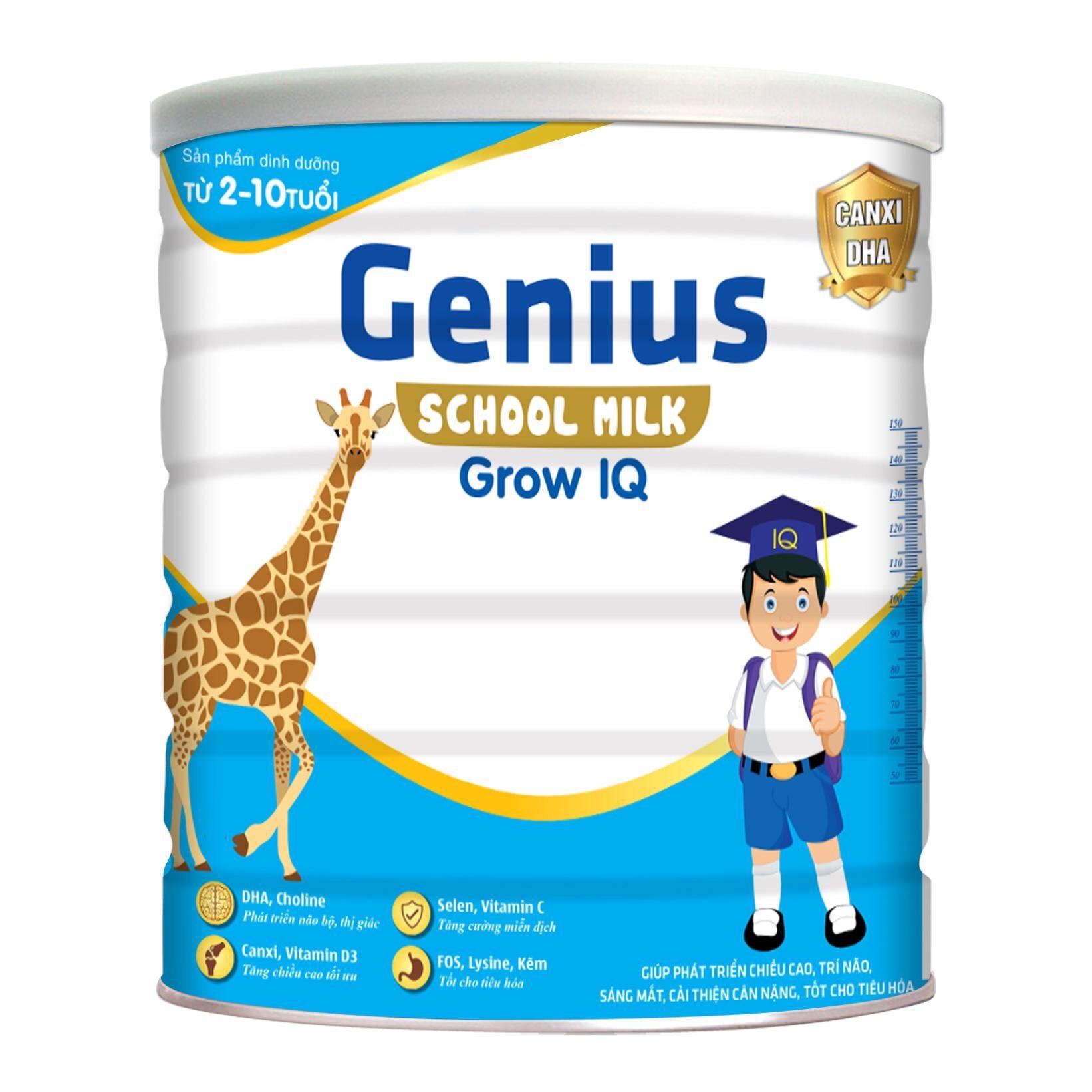 GENIUS SHOOL MILK GROW IQ 900g