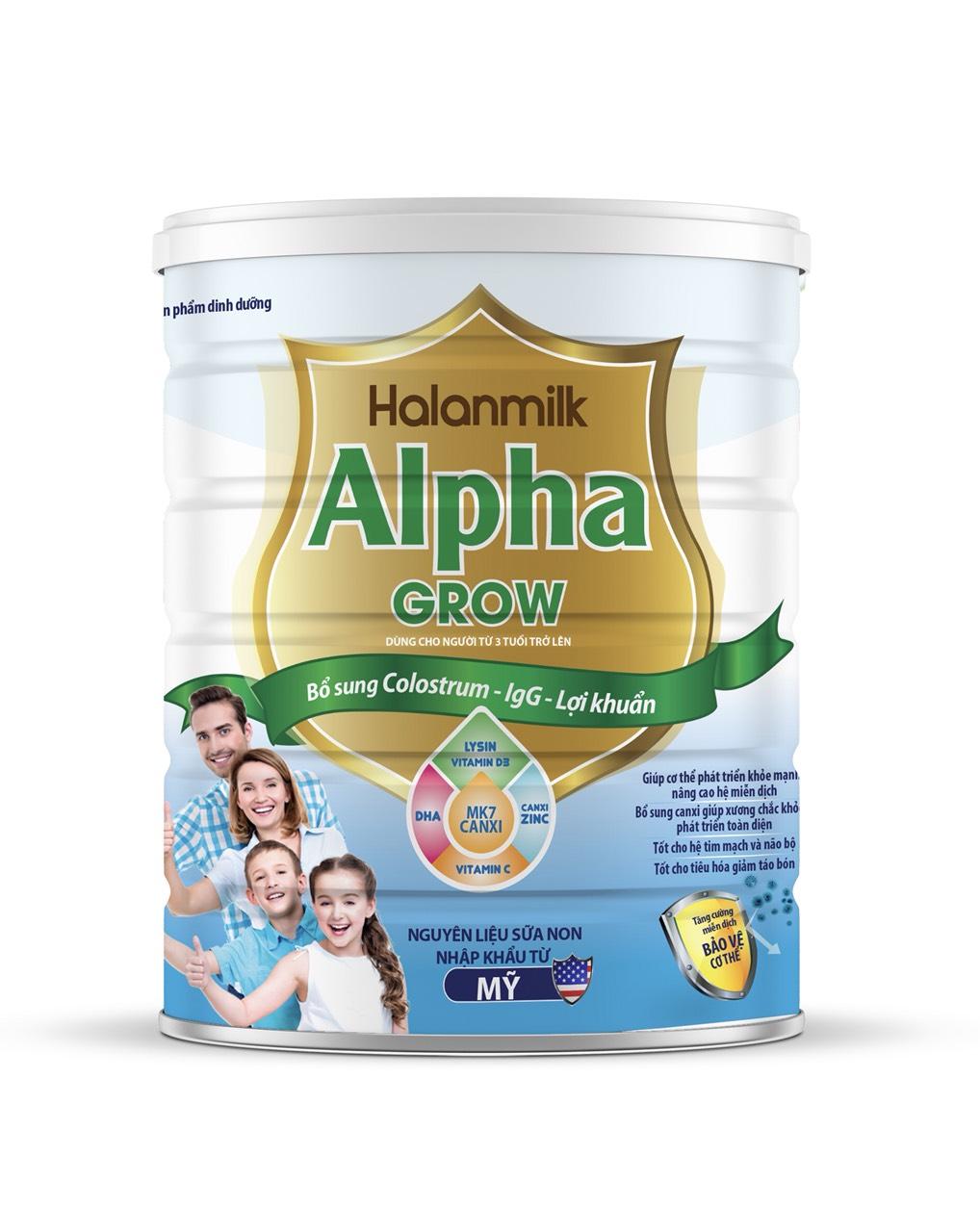 HALANMILK ALPHA GROW 900gr