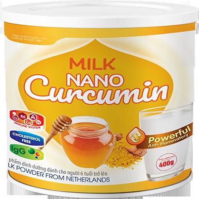Milk Nano Curcumin 400gr